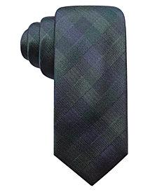 Ryan Seacrest Distinction™ Men's Warwick Gingham Slim Silk Tie, Created for Macy's