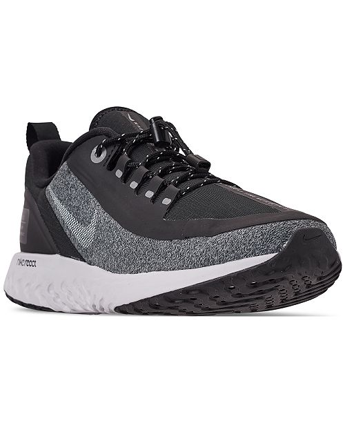 2181c839446 Nike Boys  Legend React Shield Running Sneakers from Finish Line ...