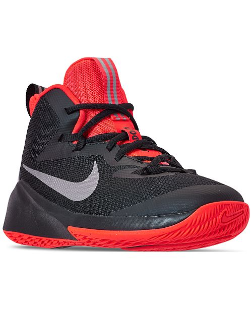 Nike Boys' Future Court Just Do It Basketball Sneakers from
