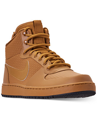 nike men's ebernon mid winter casual sneakers from finish