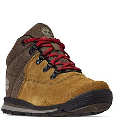 Timberland Boys' GT Rally Mid Cut Mixed-Media Boots from Finish Line