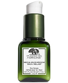 Origins Dr. Andrew Weil for Origins Mega Mushroom Skin Relief Eye Serum, 0.5 fl. oz.