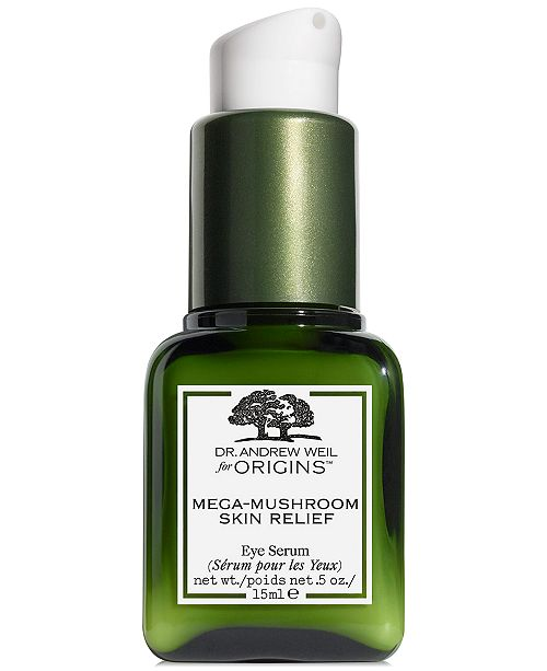 Origins Dr. Andrew Weil for Origins Mega Mushroom Skin Relief Eye Serum, 0.5 fl. oz.