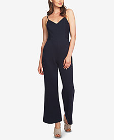 1.STATE Pinstriped Jumpsuit