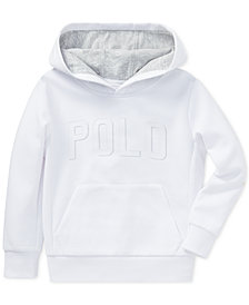 Polo Ralph Lauren Little Boys Double-Knit Graphic Hoodie
