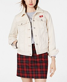 Sherpa-Lined Trucker Jacket