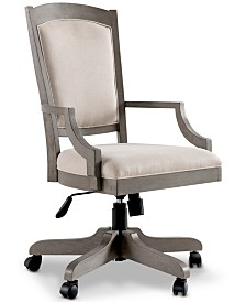 Sloane Home Office Upholstered Desk Chair, Created for Macy's