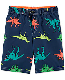 Carter's Little & Big Boys Dinosaur-Print Swim Trunks