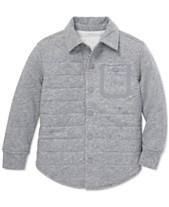 5a580b0c Polo Ralph Lauren Little Boys Quilted Jersey Shirt Jacket