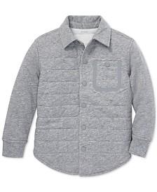 Polo Ralph Lauren Little Boys Quilted Jersey Shirt Jacket