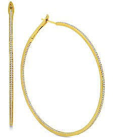 Diamond Large Hoop Earrings (1-1/2 ct. t.w.)