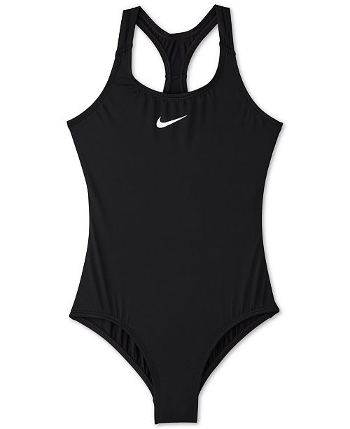 d5fb64215fc Nike Big Girls 1-Pc. Racerback Swimsuit & Reviews - Swimwear - Kids ...