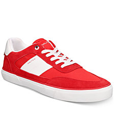 Nautica Men's Camphor Suede Low-Top Sneakers
