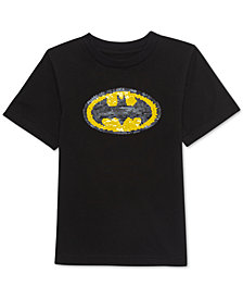 Jem Toddler Boys Batman Sequin Graphic T-Shirt