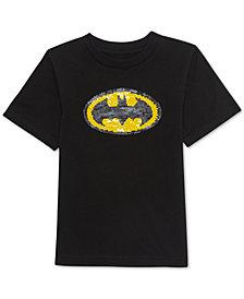 Jem Little Boys Batman Sequin Graphic T-Shirt