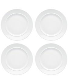 Dansk Café Blanc Salad Plates, Set of 4