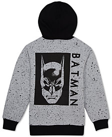 DC Comics Big Boys Batman Sherpa Fleece Hoodie