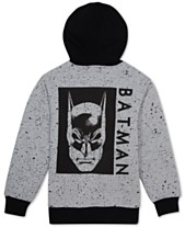 3f2e2d6b641f DC Comics Big Boys Batman Sherpa Fleece Hoodie