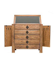 Taylor Jewelry Chest, Pine