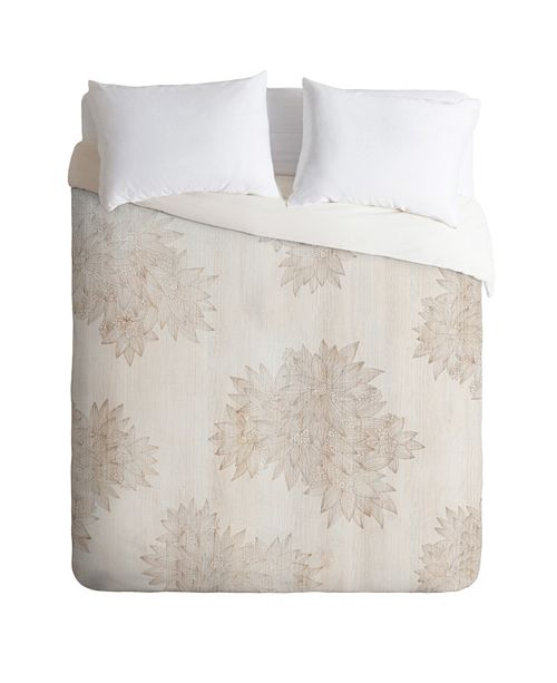 Deny Designs Iveta Abolina Beach Day Beige King Duvet Set