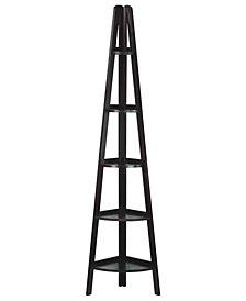 Shelf Corner Ladder Bookcase