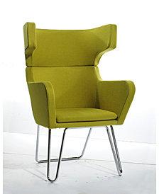 Modrest Anser Modern Fabric Lounge Chair