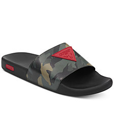 GUESS Men's Ion Slide Sandals