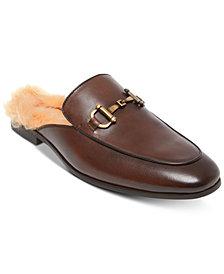 Steve Madden Men's DiFranco Leather Bit Slip-Ons