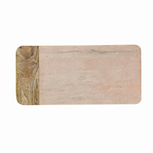 Large Pink Marble Cheese Board