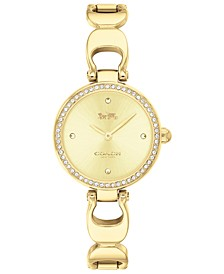 Women's Park Gold-Tone Bracelet Watch 26mm