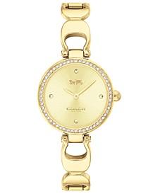 Women's Park Gold-Tone Bracelet Watch 26mm