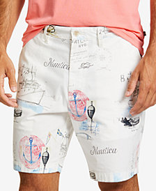 "Nautica Men's Artist Series 8.5"" Deck Shorts"