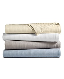 Hotel Collection Egyptian Cotton Blanket Collection, Created for Macy's