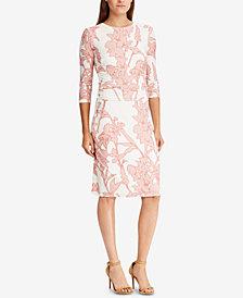 Lauren Ralph Lauren Floral-Print Dress