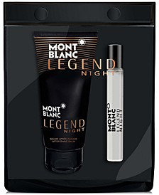 Receive a Complimentary 2-Pc Kit with any large spray purchase from the Montblanc Legend Fragrance Collection