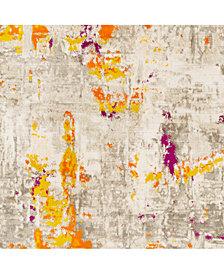 "Surya Jax JAX-5061 Burnt Orange 18"" Square Swatch"