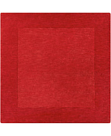 Surya Mystique M-299 Dark Red 6' Square Area Rug
