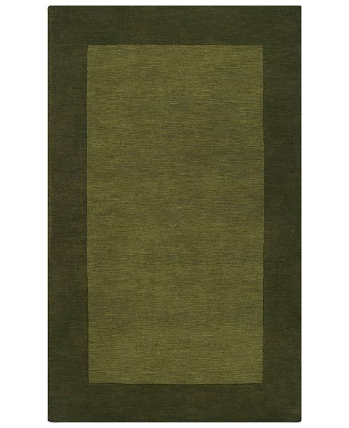 Surya Mystique M-315 Dark Green 2' x 3' Area Rug