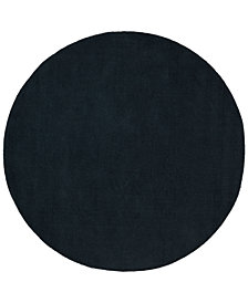 Surya Mystique M-340 Charcoal 6' Round Area Rug