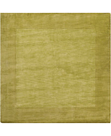Surya Mystique M-346 Lime 8' Square Area Rug