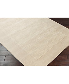 "Surya Mystique M-348 Cream 9'9"" Square Area Rug"