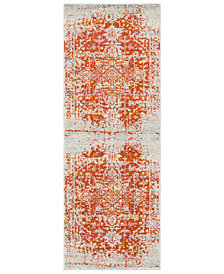"Surya Harput HAP-1019 Burnt Orange 2'7"" x 7'3"" Area Rug"