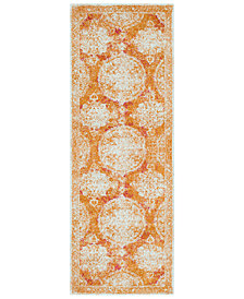 "Surya Harput HAP-1042 Burnt Orange 2'7"" x 7'3"" Area Rug"
