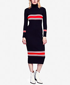 Free People Varsity-Stripe Midi Sweater Dress