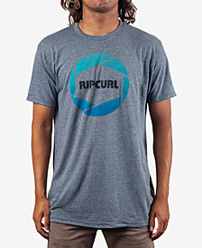 Rip Curl Men's Camera Heather Logo Graphic T-Shirt