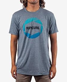 Rip Curl Men's Camera Heather Logo Graphic T-Shirt