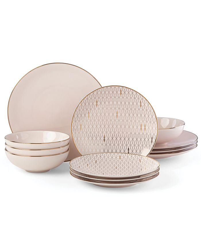 Lenox - Trianna 12-Pc. Dinnerware Set, Service for 4