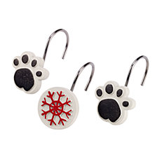 Avanti Happy Pawlidays Shower Hooks