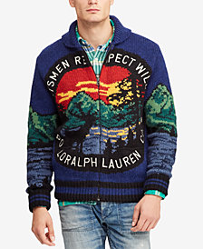 Polo Ralph Lauren Men's Great Outdoors Intarsia Full-Zip Cardigan