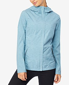 Water-Resistant Hooded Raincoat